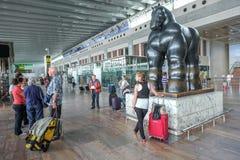 巴塞罗那机场El Prat 免版税库存图片