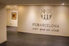 巴塞罗那橄榄球俱乐部,体育场游览 库存照片