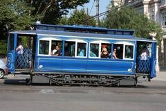 巴塞罗那电车 免版税库存图片