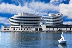 巴塞罗那码头终端 免版税库存照片