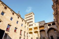 巴塞罗那老镇  免版税库存图片