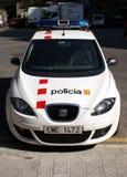 巴塞罗那警察 库存图片
