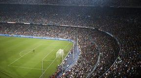 巴塞罗那阵营nou西班牙体育场 库存图片