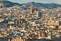 巴塞罗那,西班牙。 库存图片