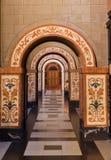 巴塞罗那betlem教会 免版税库存照片