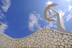 巴塞罗那calatrava西班牙塔 免版税库存照片