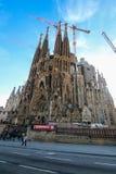 巴塞罗那familia sagrada西班牙 免版税库存照片