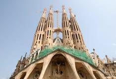 巴塞罗那familia sagrada西班牙 免版税库存图片