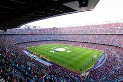 巴塞罗那fc体育场 免版税库存照片