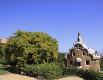 巴塞罗那gaudi公园 库存图片