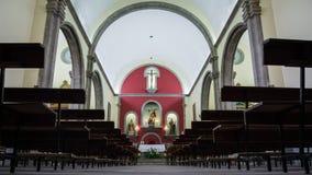 巴尔塞基略教会的照片在大加那利岛,西班牙海岛上的  免版税库存照片
