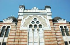 巴尔干保加利亚索非亚犹太教堂 库存照片