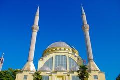 巴尔干尖塔清真寺 免版税库存图片