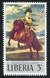 巴尔撒泽在马背上卡洛斯王子地亚哥Velasquez 库存图片