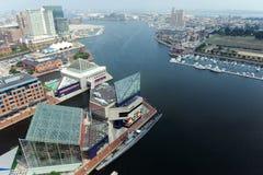 巴尔的摩港口 免版税库存照片