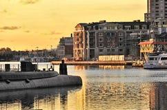 巴尔的摩潜水艇 库存照片