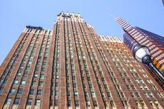 巴尔的摩街市摩天大楼大厦 库存图片