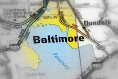 巴尔的摩,马里兰州-美国美国 免版税库存图片