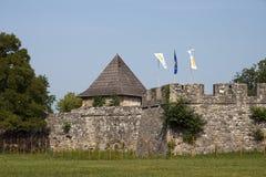 巴尼亚卢卡城堡 免版税库存图片