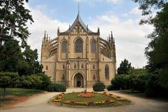巴巴拉大教堂s st 免版税图库摄影
