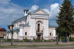 巴巴拉berdychiv教会st乌克兰 库存图片