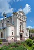 巴巴拉berdychiv教会st乌克兰 免版税库存照片