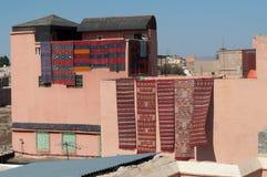 巴巴里人大厦覆盖着摩洛哥人 库存图片