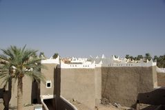 巴巴里人ghadames利比亚绿洲 库存图片