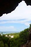 巴布达海岸  免版税库存照片