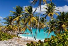 巴布达海湾底层 免版税库存照片