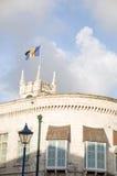 巴布达bridgetown大厦标志议会 库存照片