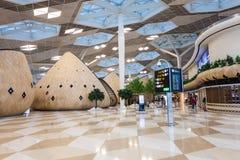 巴库盖达尔・阿利耶夫机场 图库摄影