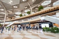 巴库盖达尔・阿利耶夫机场 库存图片