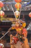 """巴彦BARU, PENANG/MALAYSIA †""""2016年2月02日:猴子神stat 免版税库存图片"""