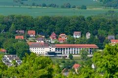 巴德哈尔茨堡镇在德国 库存图片