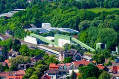 巴德哈尔茨堡镇在德国 免版税库存照片