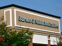 巴恩斯卖书者高尚的存储 免版税库存照片