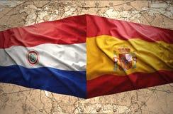 巴拉圭和西班牙 皇族释放例证