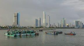 巴拿马城海湾  库存图片