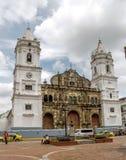 巴拿马市,巴拿马,2015年8月15日 雅西都主教座堂巴拿马 免版税库存照片