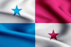 巴拿马旗子例证 皇族释放例证