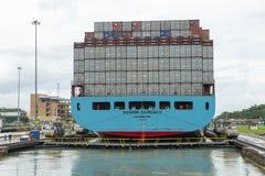 巴拿马运河锁,旅行,米拉弗洛雷斯 免版税库存图片