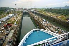 巴拿马运河 库存照片