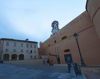 巴斯蒂亚,可西嘉岛,盖帽Corse,地平线,城堡,老镇,建筑学,博物馆,细节,城市生活,日常生活 库存图片