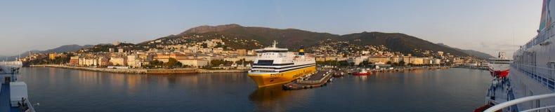 巴斯蒂亚,可西嘉岛, Corse,盖帽Corse,上部Corse,法国,欧洲,海岛 免版税库存图片