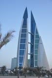 巴林中心贸易世界 库存照片
