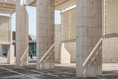 巴林国家博物馆外部  免版税库存图片