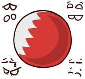 巴林国家球 皇族释放例证