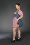 巴法力亚女孩 免版税图库摄影