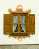 巴法力亚房子传统上绘了 库存照片